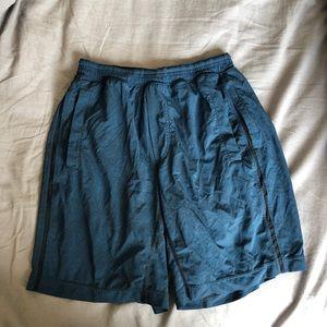 """Lululemon Blue Shorts Medium 11"""""""